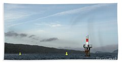 Shoal Marker Beach Towel