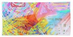 Shockwave Beach Sheet by Jeremy Aiyadurai