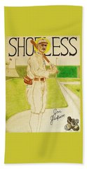 Shoeless Joe Jackson Beach Towel