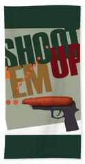 Shoot 'em Up Movie Poster Beach Sheet