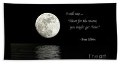 Shoot For The Moon Beach Sheet