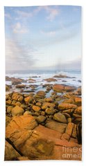 Shore Calm Morning Beach Towel by Jorgo Photography - Wall Art Gallery
