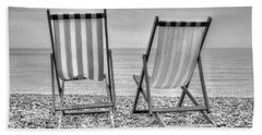 Shore Seats Beach Sheet by Hazy Apple