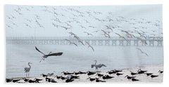 Shorebirds Beach Sheet
