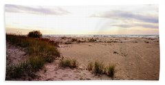 Beach Towel featuring the photograph Shoreline At Dusk by Michelle Calkins