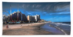 Beach Towel featuring the photograph Shoreline by Jim Hill