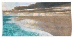 Shoreline Painted Beach Towel