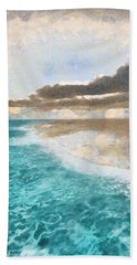 Shoreline Painted Beach Towel