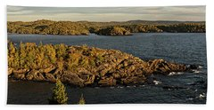 Beach Towel featuring the photograph Shores Of Pukaskwa by Doug Gibbons