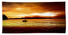 Shores Of The Soul Beach Towel