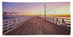 Shorncliffe Pier At First Light  Beach Sheet
