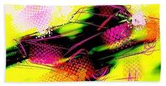 Show Car Beach Towel by Jim Vance