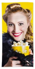 Showtime On Broadway Beach Towel