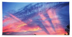 Showtime Sunset Beach Towel