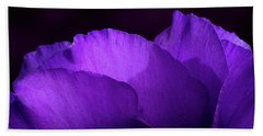 Showy Prairie Gertain Flower Petals Beach Towel