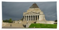 Shrine Of Remembrance Beach Sheet