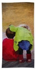 Sibling Love Beach Towel