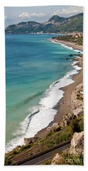 Sicilian Sea Sound Beach Towel