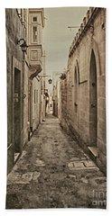 Side Street Malta Beach Towel