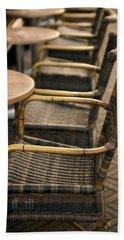 Sidewalk Cafe Texture Beach Sheet