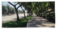 Sidewalk Counseling Beach Towel