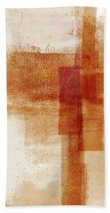 Sienna 1- Abstract Art By Linda Woods Beach Towel