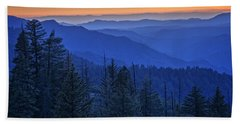 Sierra Fire Beach Sheet by Rick Berk