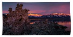 Sierra Glow Beach Towel