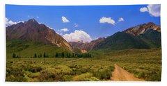Sierra Mountains - Mammoth Lakes, California Beach Sheet