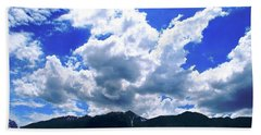Sierra Nevada Cloudscape Beach Sheet