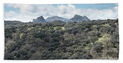 Sierra Ronda, Andalucia Spain Beach Towel