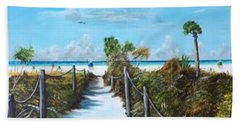 Siesta Beach Access Beach Towel