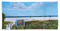 Siesta Key Public Beach Beach Towel