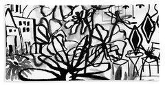 Sightseeing 2- Art By Linda Woods Beach Towel