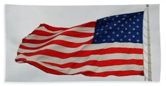 Sign Of Freedom Beach Towel