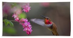 Sign Of Spring Beach Towel by Randy Hall