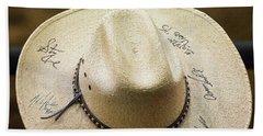 Signature Hat Beach Towel