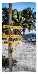 Signs Beach Sheet