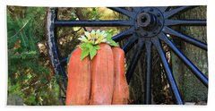 Signs Of Fall Beach Towel