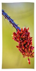 Beach Towel featuring the photograph Signs Of Life by Rick Furmanek