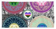 Silberzweig - Karma Mandela -  Pride Female - Ruby Beach Towel