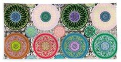Silberzweig - Karma Mandela - Sage Blush - Beach Sheet by Sandra Silberzweig