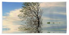 Silence Beach Sheet by Elfriede Fulda