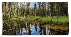 Silent Creek Beach Towel