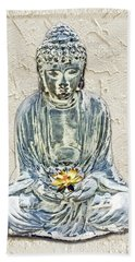 Silent Meditation Beach Towel