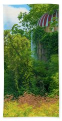 Silent Silo On Nottleson Road Beach Towel by Trey Foerster