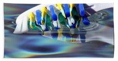 Silent Toothbrush Beach Sheet