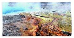 Silex Hot Springs Beach Towel