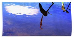 Silhouette Aquatic Fish Beach Sheet