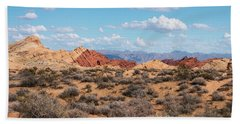 Silica Dome - Valley Of Fire Beach Towel